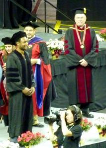 Moments before I was officially made into a juris doctor.